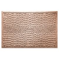 Weather Guard™ Alligator 24-Inch x 36-Inch Door Mat in Brown