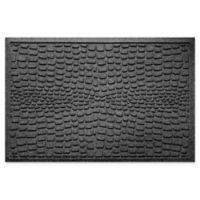 Weather Guard™ Alligator 24-Inch x 36-Inch Door Mat in Charcoal
