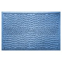 Weather Guard™ Alligator 24-Inch x 36-Inch Door Mat in Blue