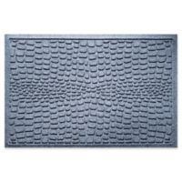 Weather Guard™ Alligator 24-Inch x 36-Inch Door Mat in Bluestone