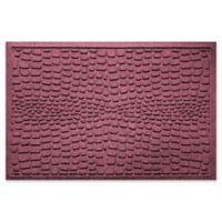 Weather Guard™ Alligator 24-Inch x 36-Inch Door Mat in Bordeaux