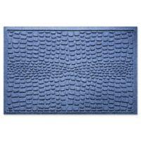 Weather Guard™ Alligator 24-Inch x 36-Inch Door Mat in Navy