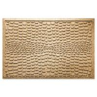 Weather Guard™ Alligator 24-Inch x 36-Inch Door Mat in Gold