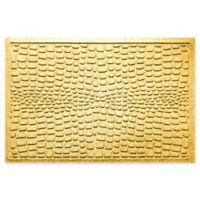 Weather Guard™ Alligator 24-Inch x 36-Inch Door Mat in Yellow