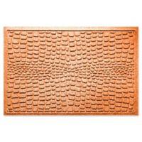 Weather Guard™ Alligator 24-Inch x 36-Inch Door Mat in Orange