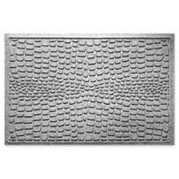 Weather Guard™ Alligator 24-Inch x 36-Inch Door Mat in Grey