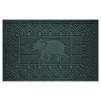 Weather Guard™ Elephant 24-Inch x 36-Inch Door Mat in Evergreen