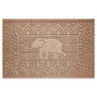 Weather Guard™ Elephant 24-Inch x 36-Inch Door Mat in Brown