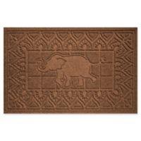 Weather Guard™ Elephant 24-Inch x 36-Inch Door Mat in Dark Brown