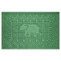 Weather Guard™ Elephant 24-Inch x 36-Inch Door Mat in Light Green