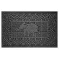 Weather Guard™ Elephant 24-Inch x 36-Inch Door Mat in Charcoal