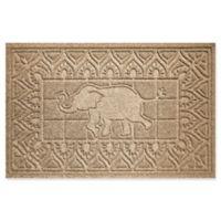 Weather Guard™ Elephant 24-Inch x 36-Inch Door Mat in Camel