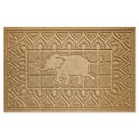 Weather Guard™ Elephant 24-Inch x 36-Inch Door Mat in Gold
