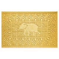 Weather Guard™ Elephant 24-Inch x 36-Inch Door Mat in Yellow