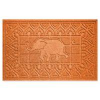 Weather Guard™ Elephant 24-Inch x 36-Inch Door Mat in Orange