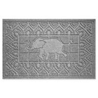 Weather Guard™ Elephant 24-Inch x 36-Inch Door Mat in Grey
