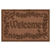 Weather Guard™ Bird on a Branch 24-Inch x 36-Inch Door Mat in Dark Brown