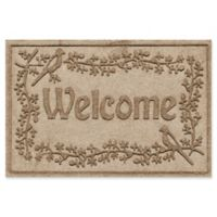 Weather Guard™ Bird on a Branch 24-Inch x 36-Inch Door Mat in Camel