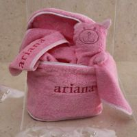 Terry Bath Set in Pink