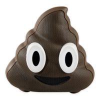 JAM® Wireless Bluetooth Poop Emoji Speaker in Brown