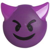 JAM® Wireless Bluetooth Trouble Emoji Speaker in Purple