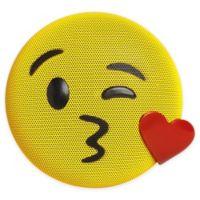 JAM® Wireless Bluetooth Kiss Emoji Speaker in Yellow