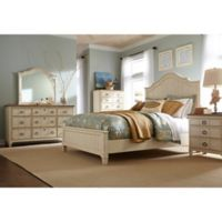 Palmetto Home Millbrook 5-Piece King Bedroom Set in Buttermilk
