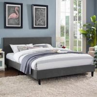 Modway Anya Queen Bed Frame in Grey