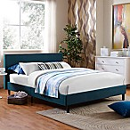 Modway Anya Queen Bed Frame in Azure