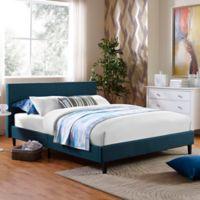 Modway Anya Queen Bed Frame in Azure