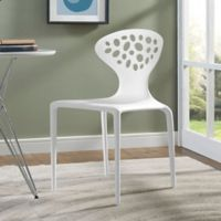 Modway Animate Dining Side Chair in White