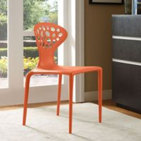 Modway Animate Dining Side Chair in Orange