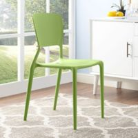 Modway Fine Dining Side Chair in Green