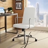 Modway Cavalier Highback Office Chair in White