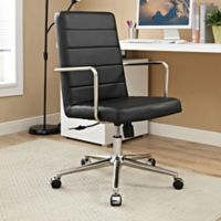 Modway Cavalier Highback Office Chair in Black