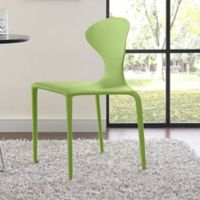 Modway Draw Dining Side Chair in Green