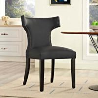 Modway Curve Dining Chair in Black