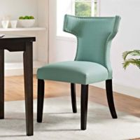 Modway Curve Dining Side Chair in Laguna