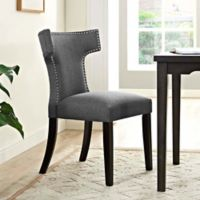 Modway Curve Dining Side Chair in Grey