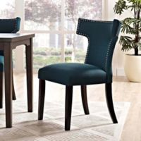 Modway Curve Dining Side Chair in Azure