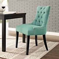 Modway Regent Upholstered Dining Side Chair in Laguna