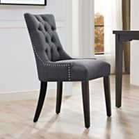 Modway Regent Upholstered Dining Side Chair in Grey