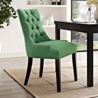 Modway Regent Upholstered Dining Side Chair in Green