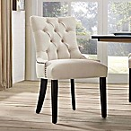 Modway Regent Upholstered Dining Side Chair in Beige