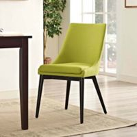 Modway Viscount Fabric Dining Chair in Wiheatgrass