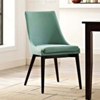 Modway Viscount Fabric Dining Chair in Laguna