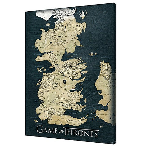 Pyramid america game of thrones map 24 inch x 36 inch canvas wall pyramid america game of thrones map 24 inch x 36 inch canvas wall art gumiabroncs Choice Image