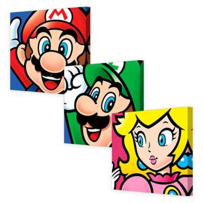 Nintendo® Mario Brothers Canvas Wall Art