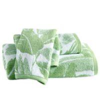 Destinations Miami Leaf Hand Towel in Green