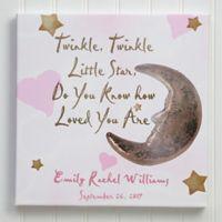 Twinkle, Twinkle 12-Inch x 12-Inch Canvas Print